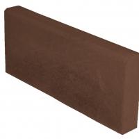 Бордюр садовый 500х200х30 мм (вибролитье) коричневый