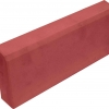 Бордюр тротуарный 500х200х60 мм (вибролитой) красный